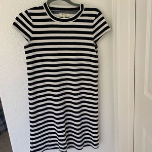 Madewell striped dress.